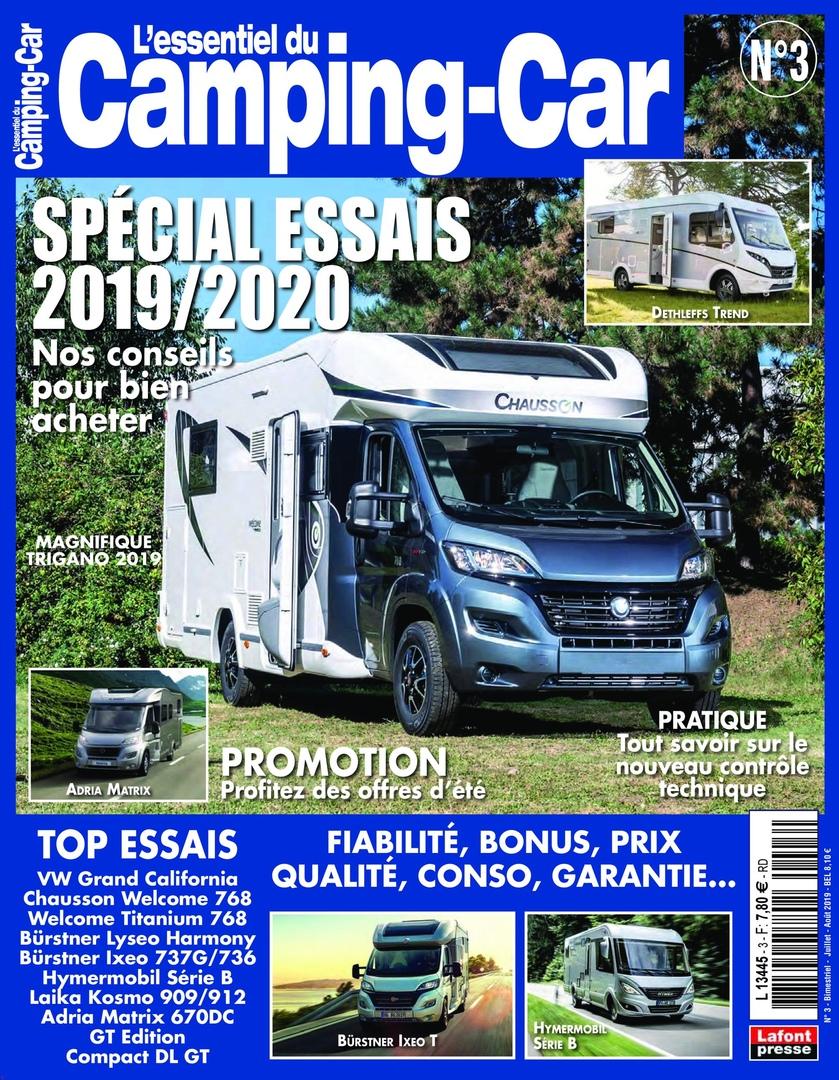 L'Essentiel Du Camping-Car – Juin 2019