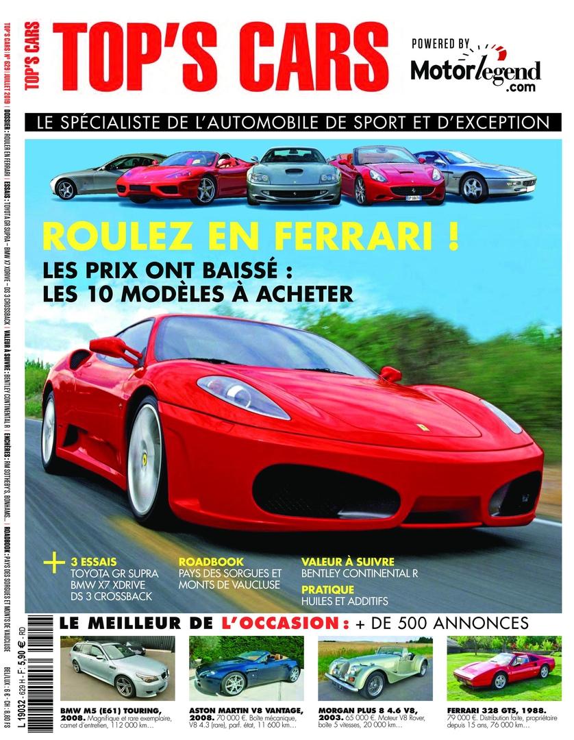 Top's Cars Magazine – Juillet 2019