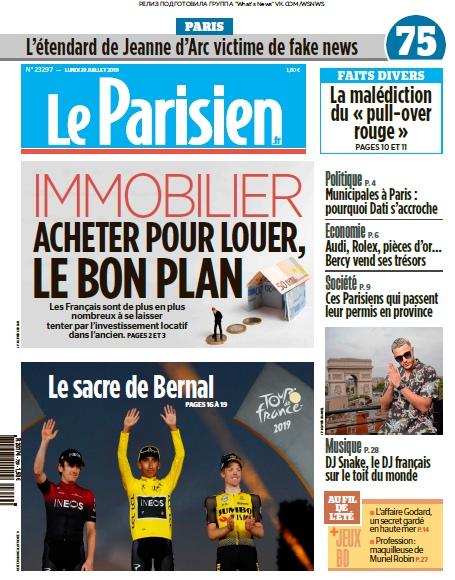 Le Parisien – 29.07.2019