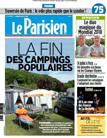 Le Parisien – 15.07.2019