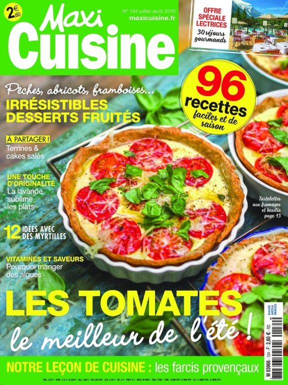 Maxi Cuisine – Juillet 2019