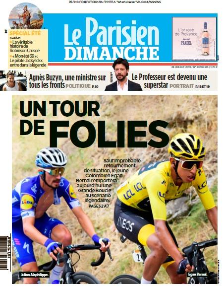 Le Parisien – 28.07.2019