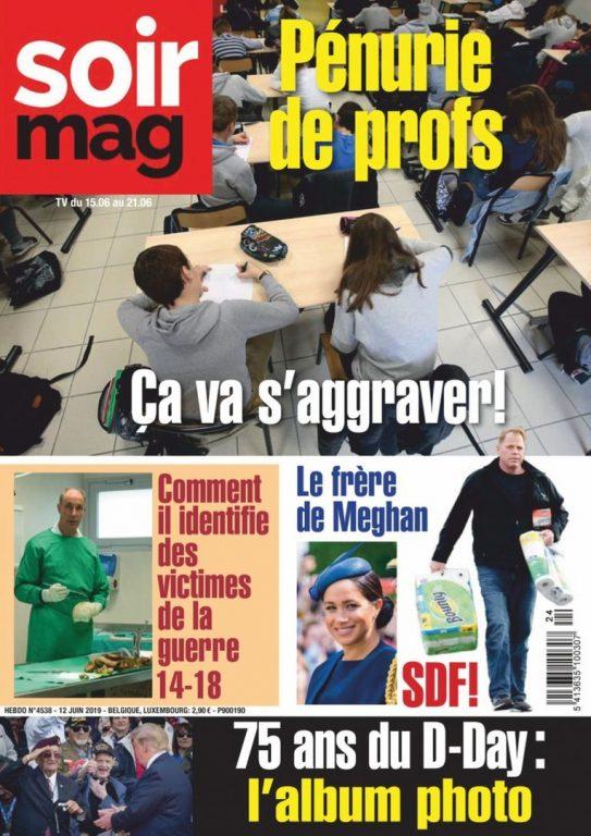 Le Soir Magazine – 17 Juin 2019