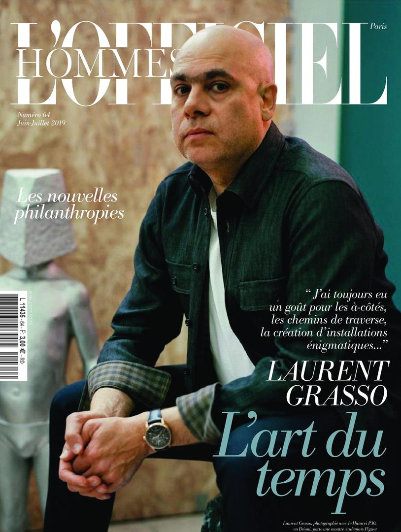 L'Officiel Hommes Paris – Juin 2019