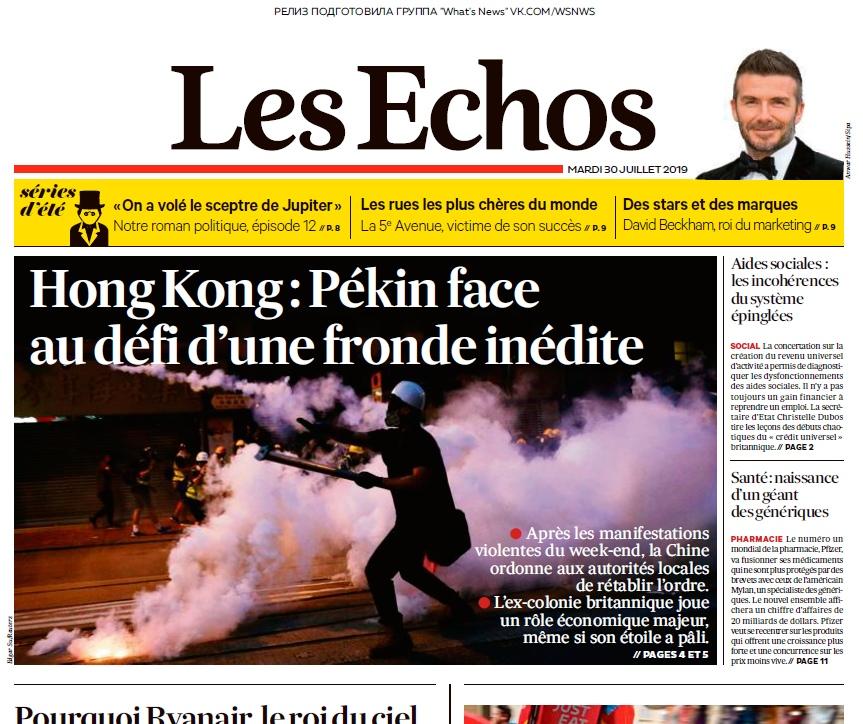 Le Parisien – 30.07.2019