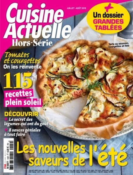 Cuisine Actuelle Hors-Série – Juillet-Août 2019