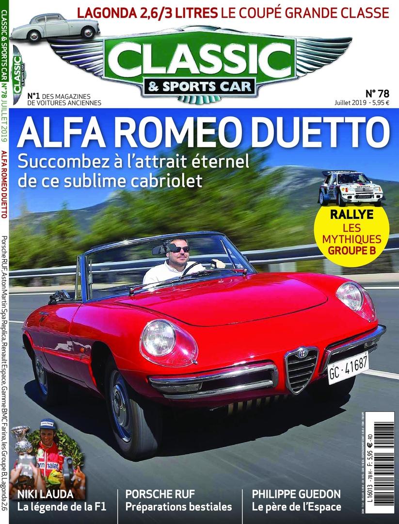 Classic & Sports Car France – Juillet 2019