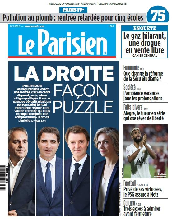 Le Parisien – 31.08.2019