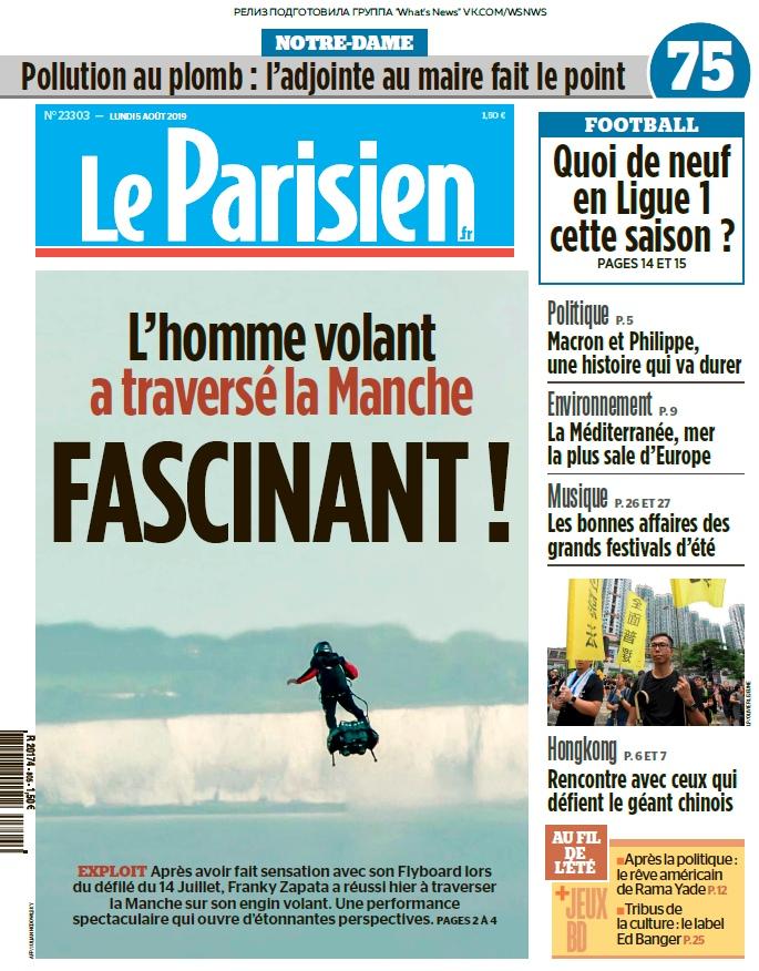 Le Parisien – 05.08.2019