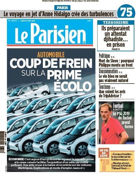 Le Parisien – 01.08.2019
