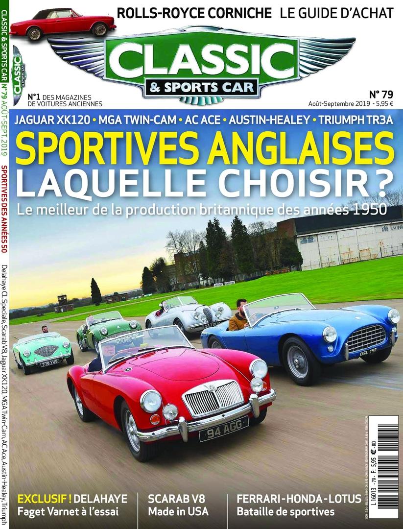Classic & Sports Car France – Août 2019