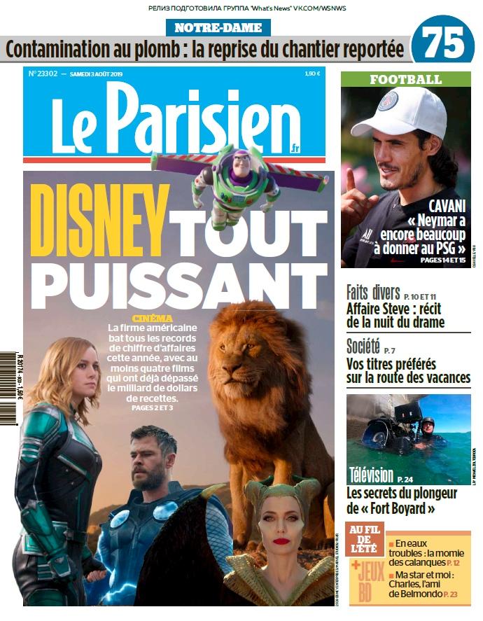 Le Parisien – 03.08.2019