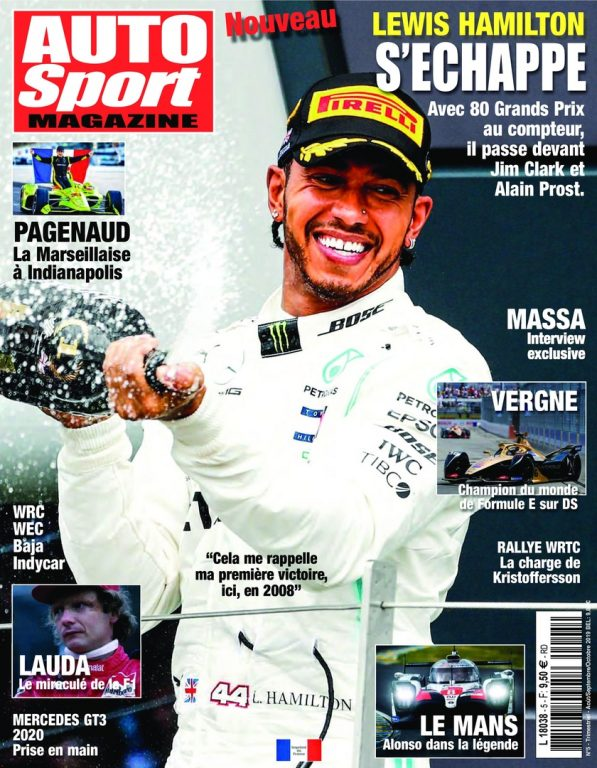 Auto Sport Magazine – Août 2019