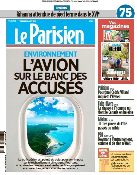 Le Parisien – 02.08.2019