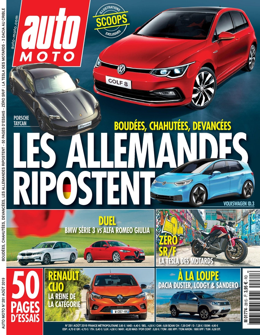Auto Moto France – Août 2019