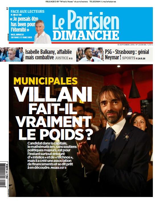 Le Parisien – 15.09.2019