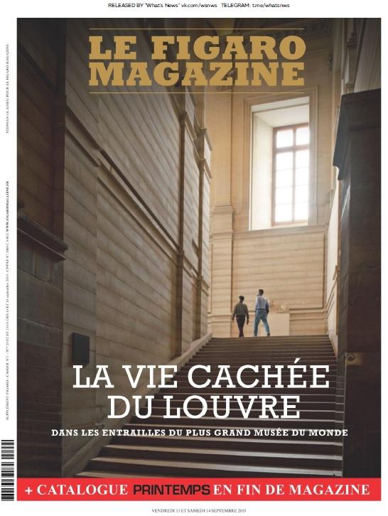 Le Figaro Magazine – 13.09.2019