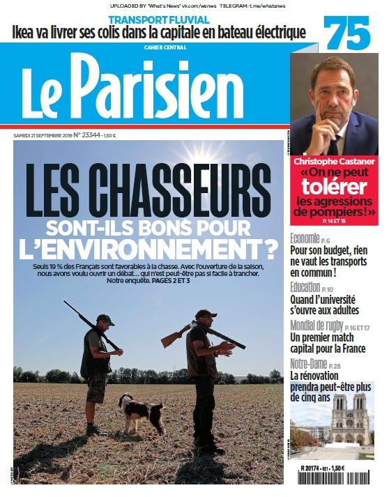Le Parisien – 21.09.2019