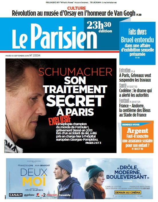 Le Parisien – 10.09.2019