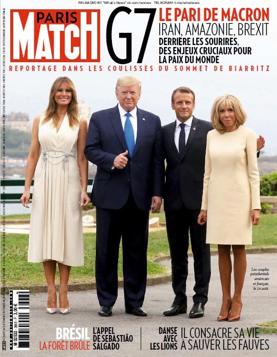 Paris Match – 29.08.2019 – 04.09.2019