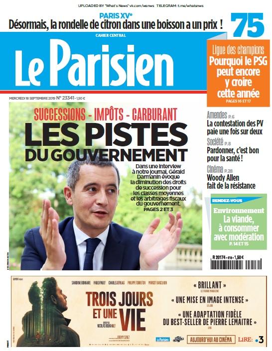 Le Parisien – 18.09.2019