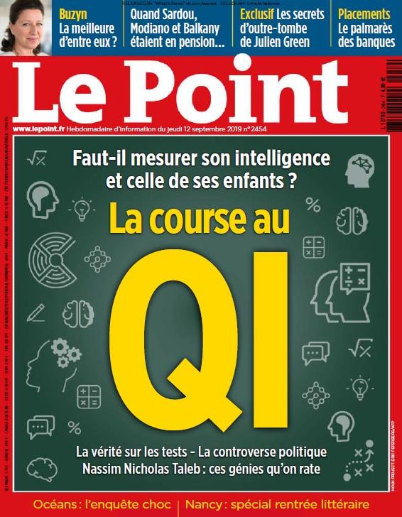 Le Point – 12.09.2019