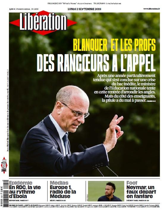 Libération – 02.09.2019