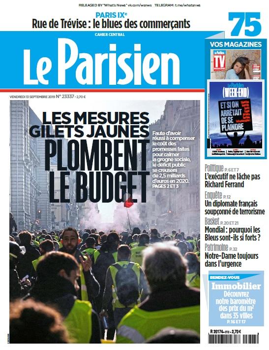 Le Parisien – 13.09.2019
