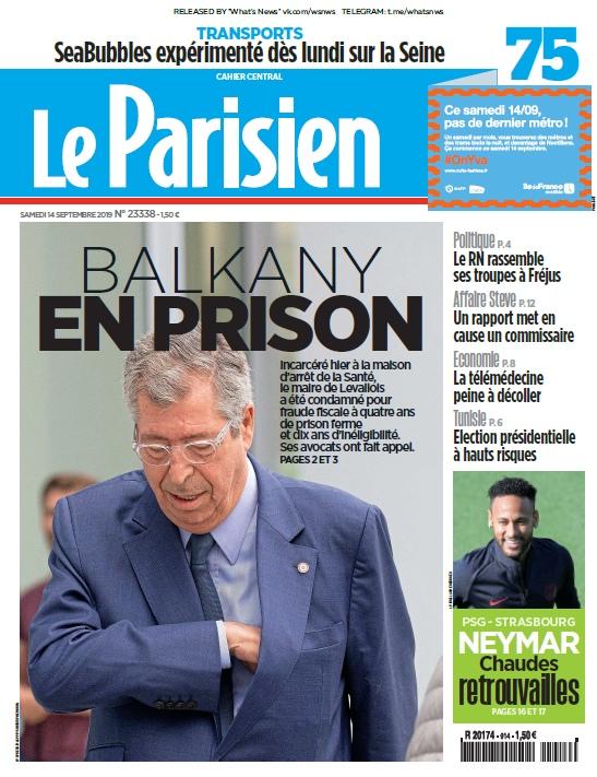Le Parisien – 14.09.2019