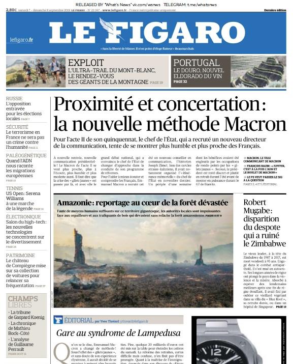 Le Parisien – 07.09.2019
