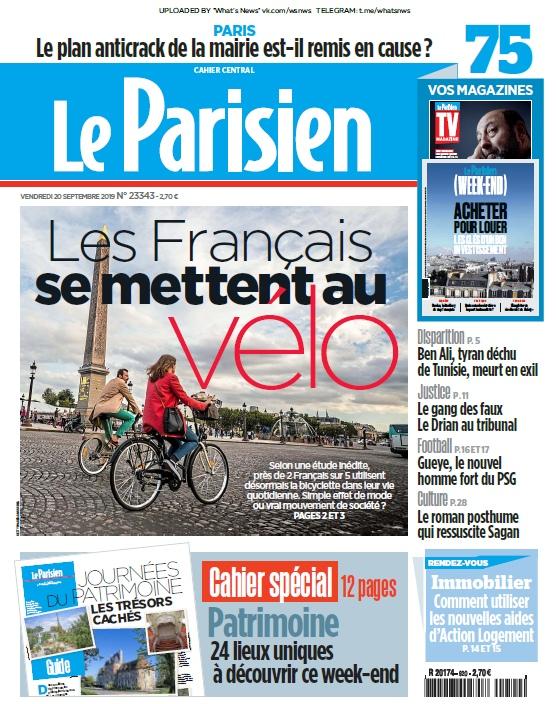 Le Parisien – 20.09.2019