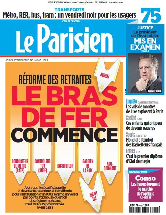 Le Parisien – 12.09.2019
