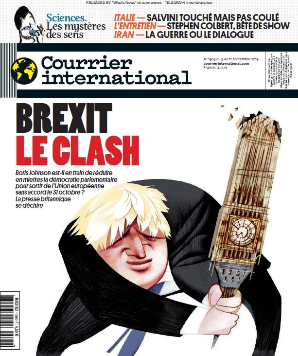 Courrier International – 05.09.2019