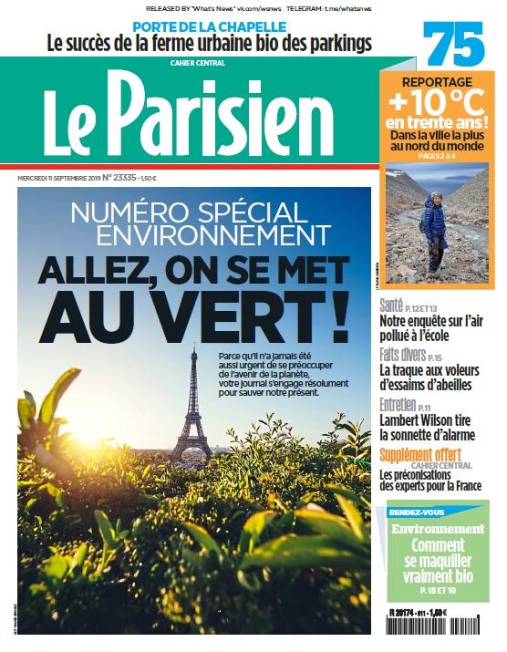 Le Parisien – 11.09.2019