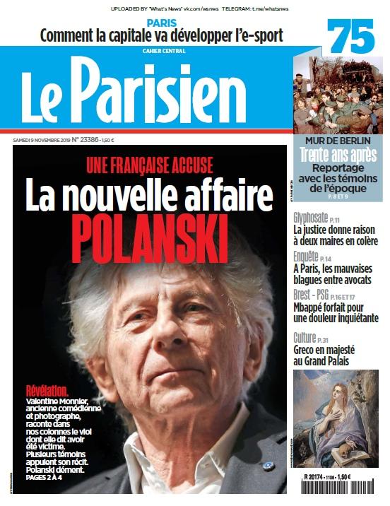Le Parisien – 09.11.2019