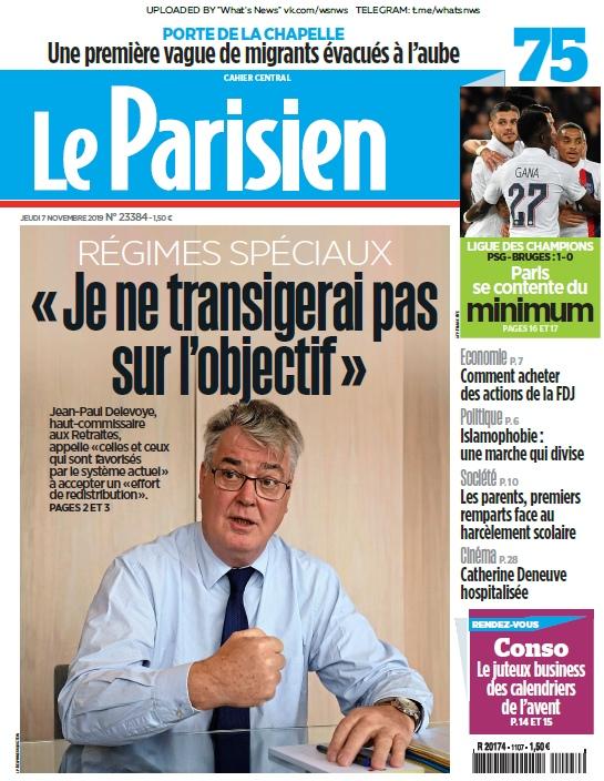 Le Parisien – 07.11.2019