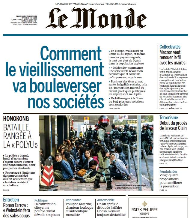 Le Monde – 19.11.2019