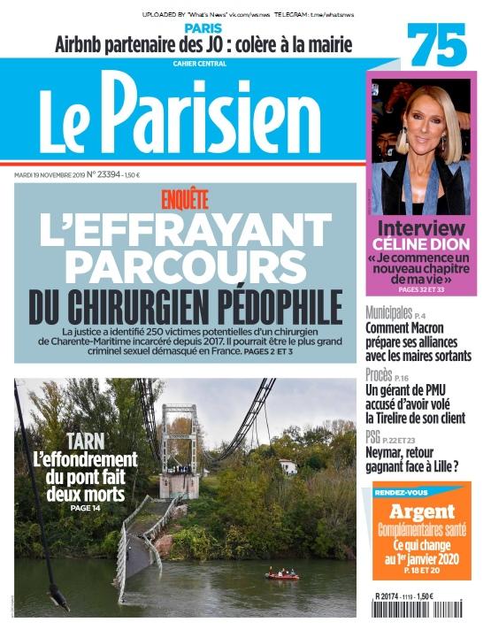 Le Parisien – 19.11.2019