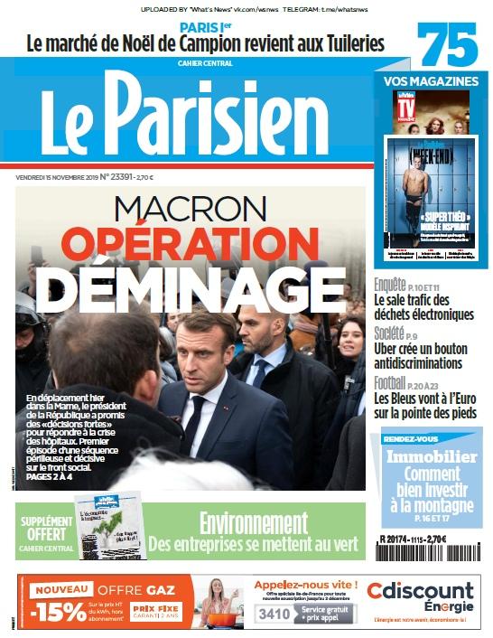 Le Parisien – 15.11.2019