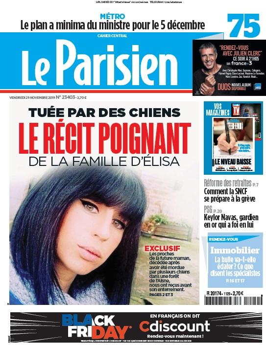 Le Parisien – 29.11.2019