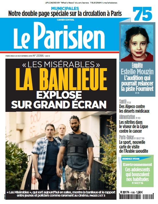 Le Parisien – 20.11.2019