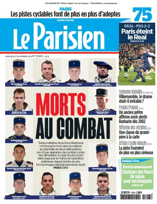 Le Parisien – 27.11.2019