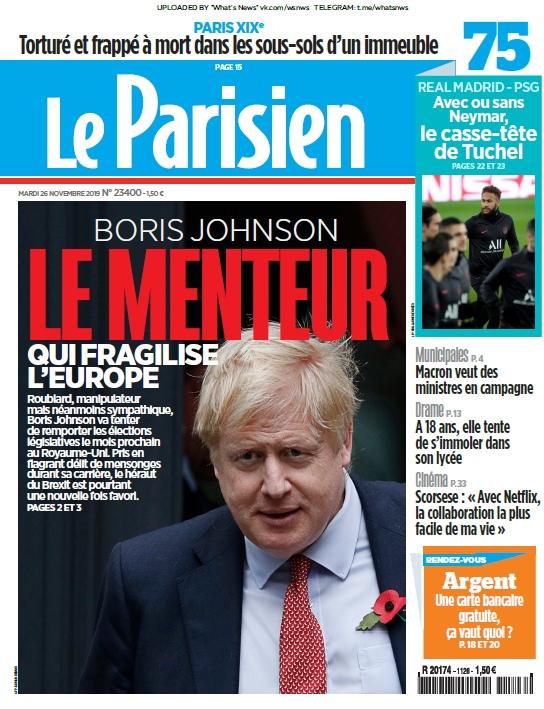 Le Parisien – 26.11.2019