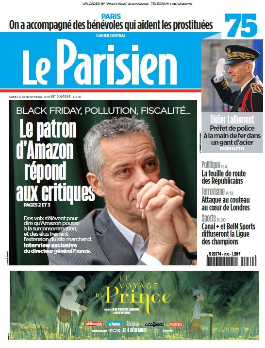 Le Parisien – 30.11.2019