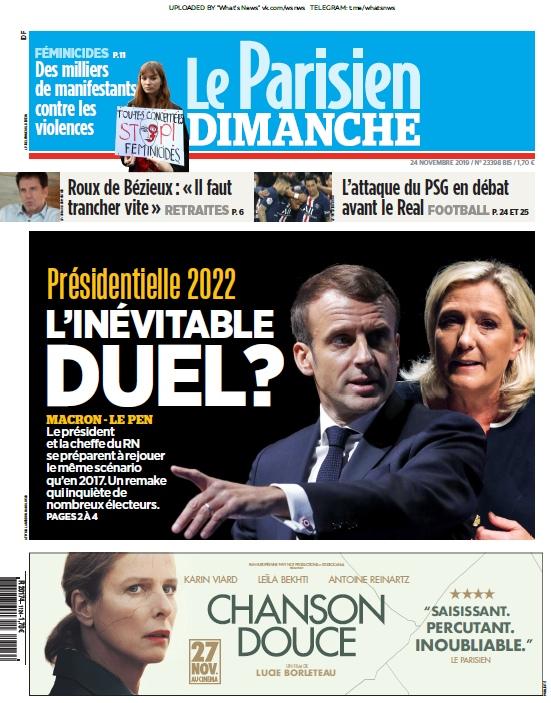 Le Parisien – 24.11.2019