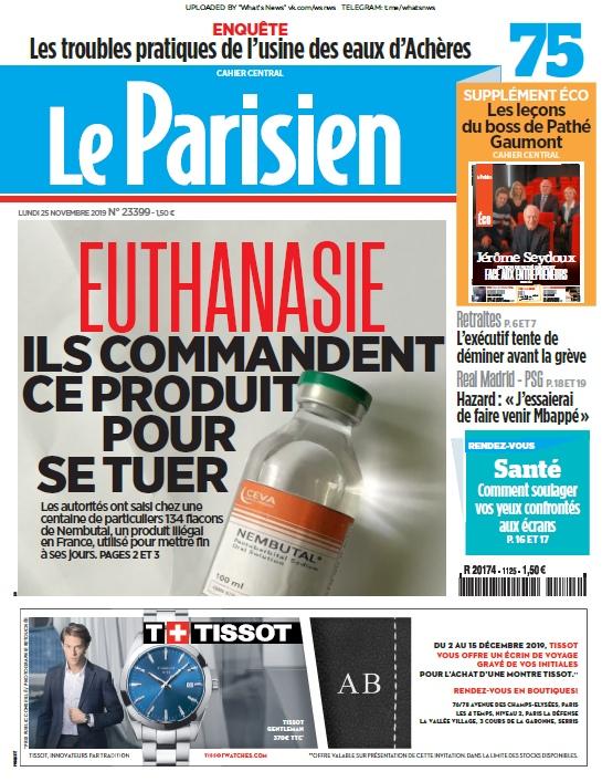 Le Parisien – 25.11.2019
