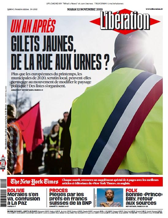 Libération – 12.11.2019