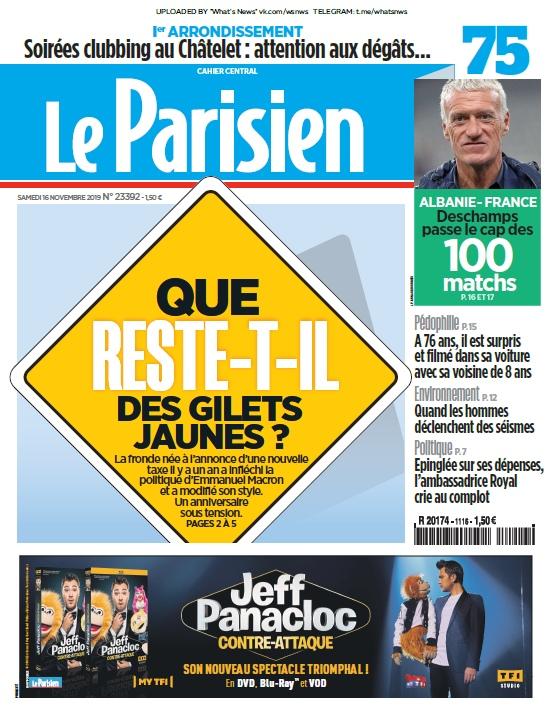 Le Parisien – 16.11.2019