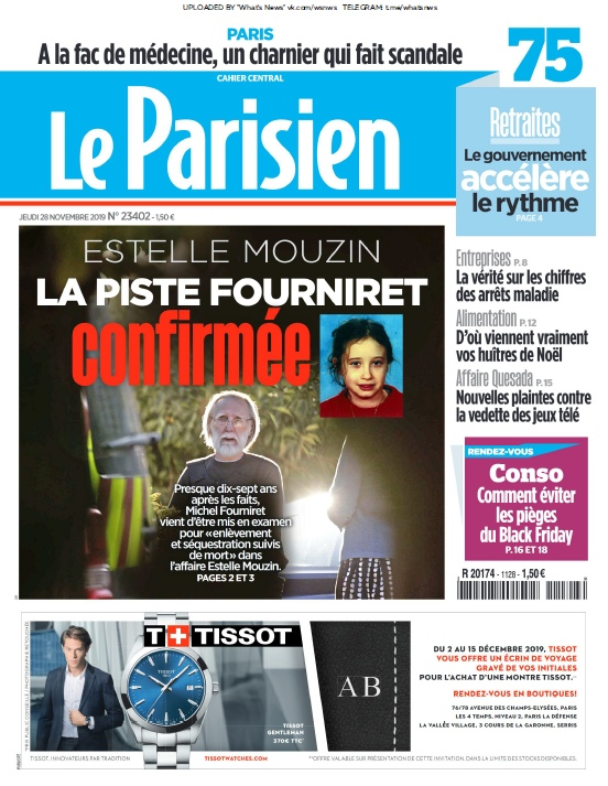 Le Parisien – 28.11.2019