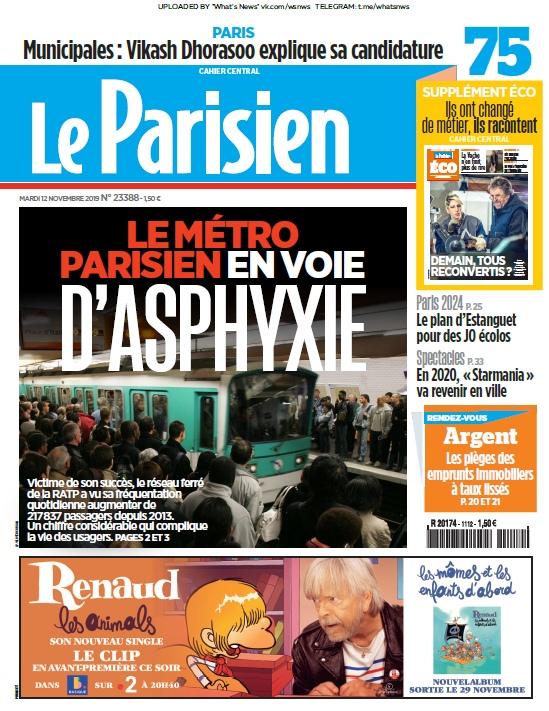 Le Parisien – 12.11.2019